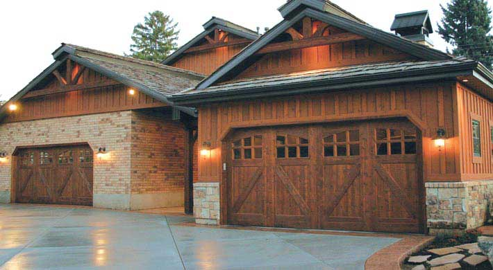Wood Garage Doors | San Jose, CA & Monterey, CA | Aaron Overhead Door