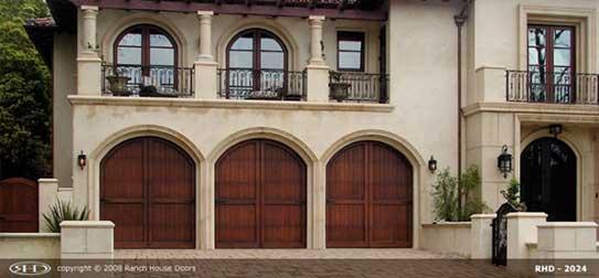 Replace wood garage door