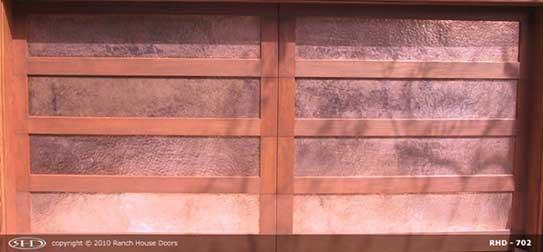 Replace wood garage doors