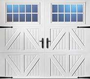 Solid garage door replacement